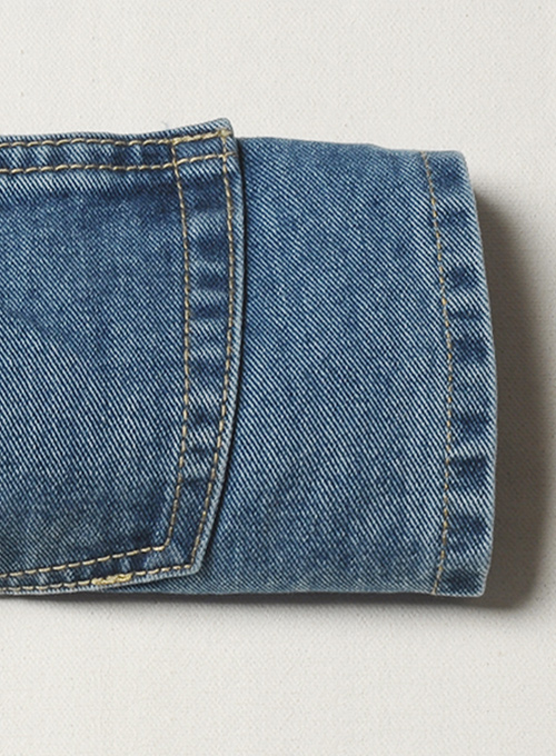 Authentic Left Hand Twill Denim - Denim-X