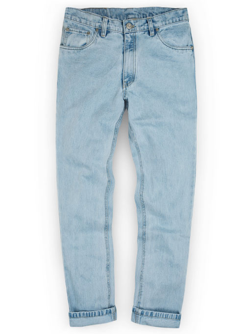 Authentic Left Hand Twill Denim - Light Wash