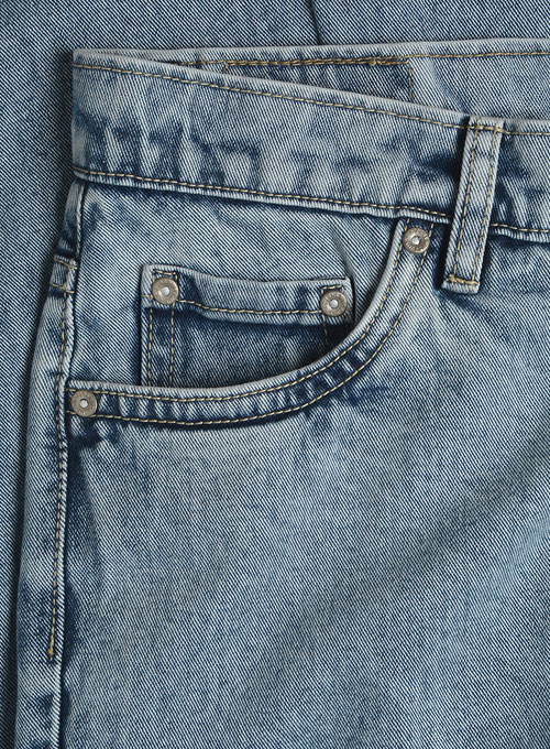 Authentic Left Hand Twill Denim - Blast Wash