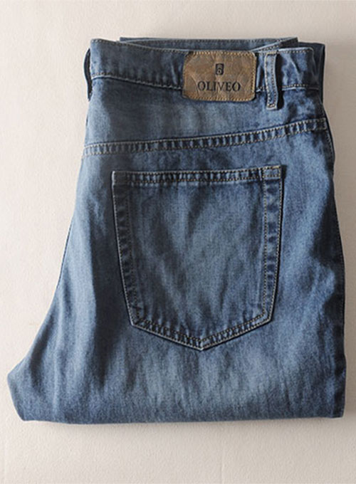 Authentic Left Hand Twill Denim - Scrape Wash