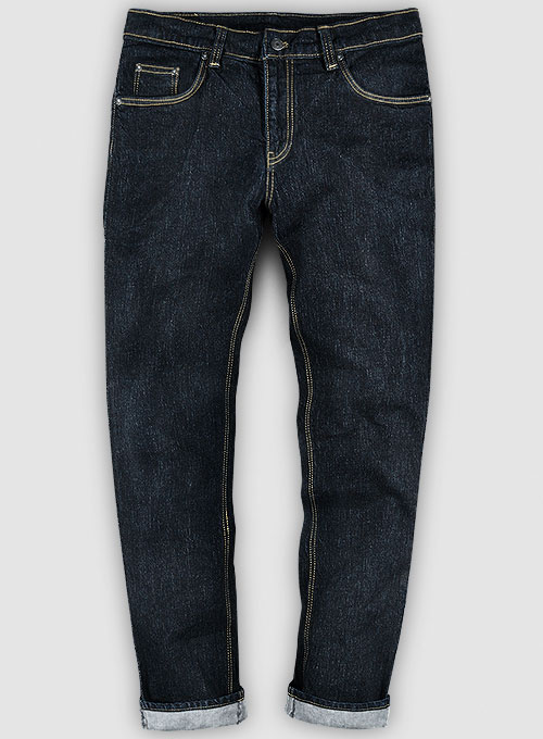 Barnes Blue Slight Stretch Hard Wash Jeans