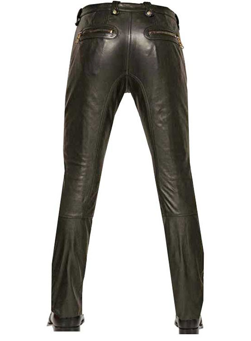 Belafonte Leather Pants - Click Image to Close