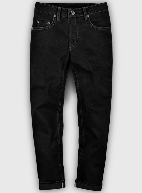Black Body Hugger Stretch Jeans - Look #226