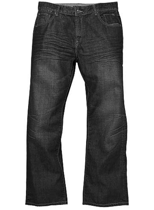 Black Tiger Claws Scrape Wash Jeans
