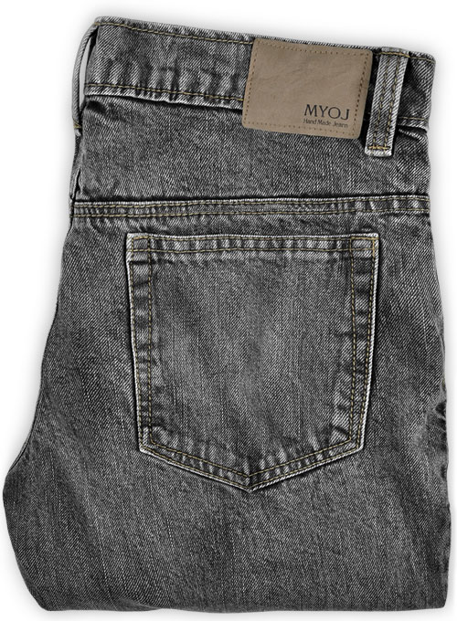 Cross Hatch  Black Jeans - Blast Wash