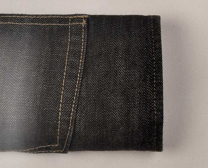 Cross Hatch  Black Jeans - Scrape Wash