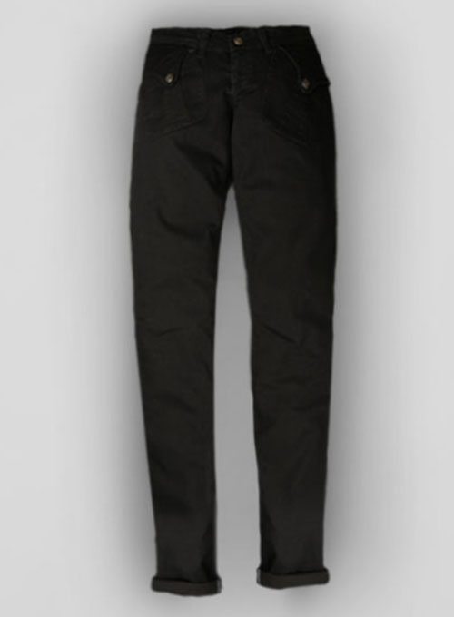 Black Body Hugger Stretch Jeans - Look #228
