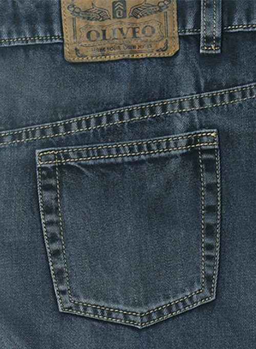 Blue Engine Jeans - Vintage Wash