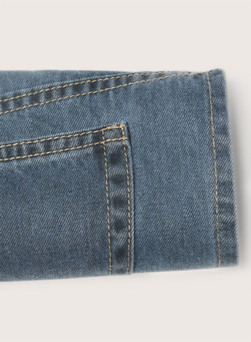 Blue Engine Jeans - Light Blue