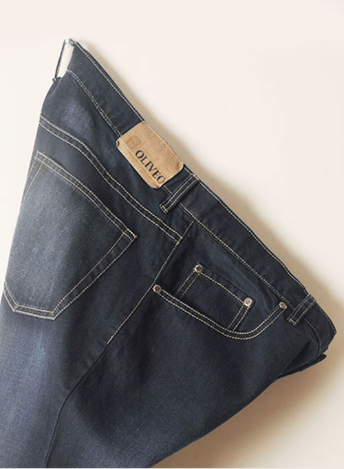 Blue Engine Jeans - Hard Wash Scraped