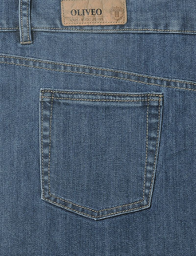 Bobby Blue Heavy Stretch Jeans - Light Blue