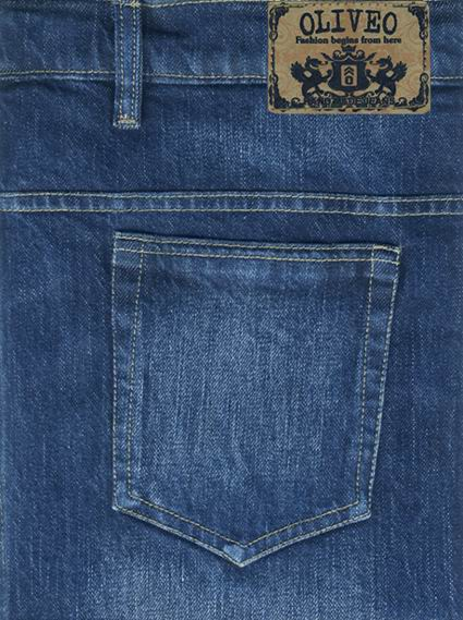 Bobby Blue Heavy Stretch Jeans - Hard Wash Scrapped