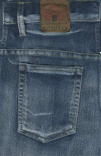 Body Hugger Stretch Vintage Wash Jeans