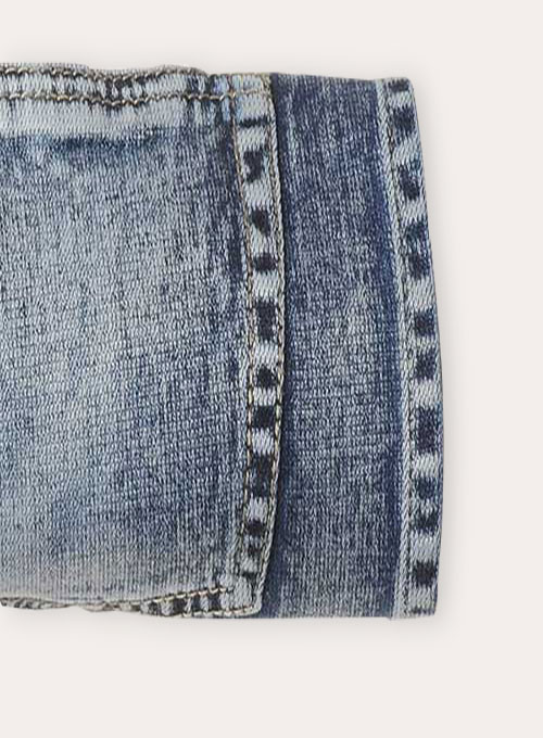 Body Wrapper Stretch Vintage Wash Jeans