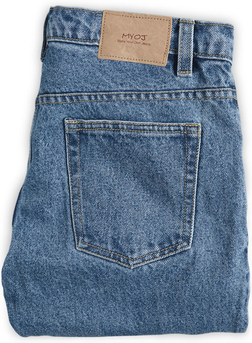 Bull Heavy Denim Jeans - 15.5oz - Light Wash