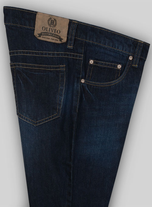 Bullet Denim Jeans - Hard Wash - Whiskers - Click Image to Close