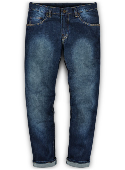 Bullet Denim Jeans - Hard Wash Scrape