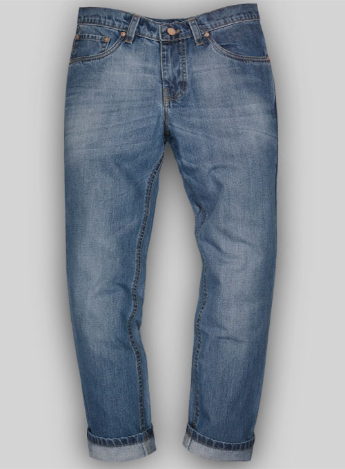 Bullet Denim Jeans - Stone Wash