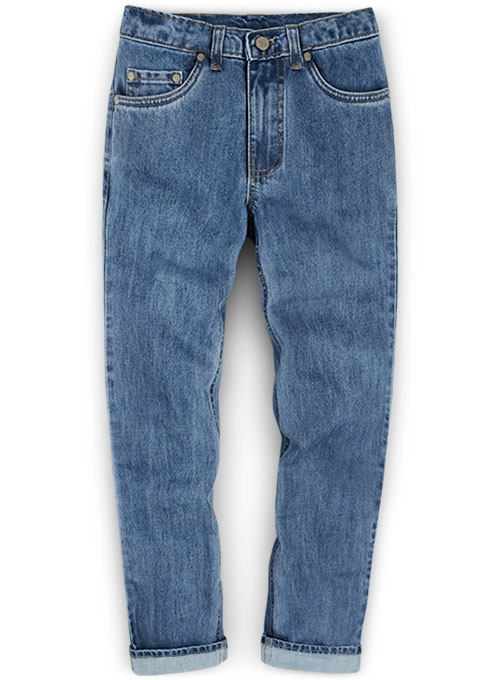 Bullet Denim Jeans - Light Blue