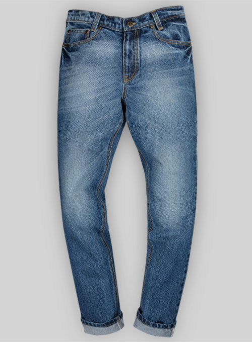 bull heavy denim jeans stone wash makeyourownjeans made to measure custom jeans for men. Black Bedroom Furniture Sets. Home Design Ideas