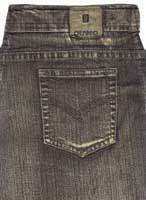 Killer Brown Stretch Denim Jeans - Vintage Wash