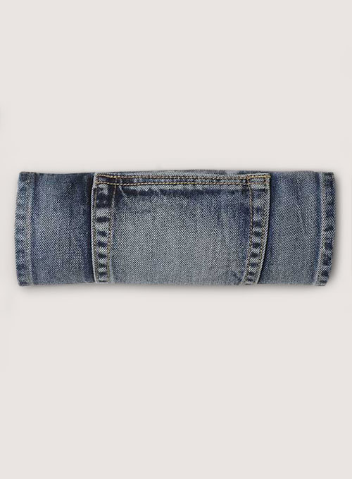 Classic Heavy Hogan Denim Jeans - Vintage Wash