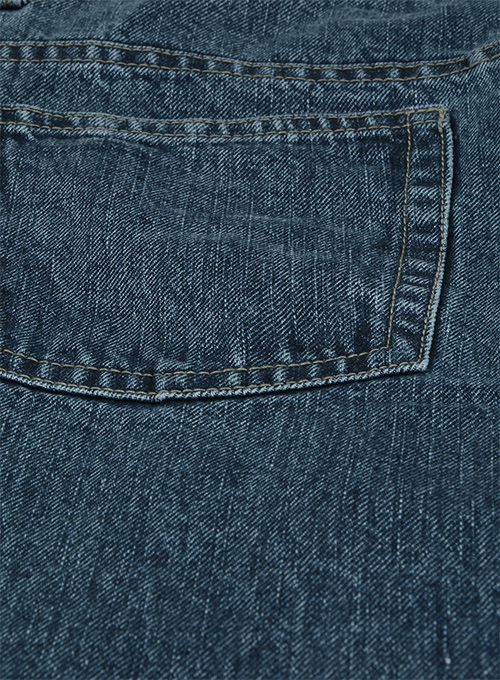 Classic Indigo Rinse Jeans - Blast Wash - Click Image to Close