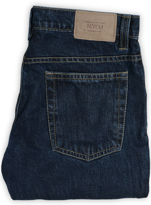 Classic Indigo Rinse Jeans - Denim-X Wash - Click Image to Close