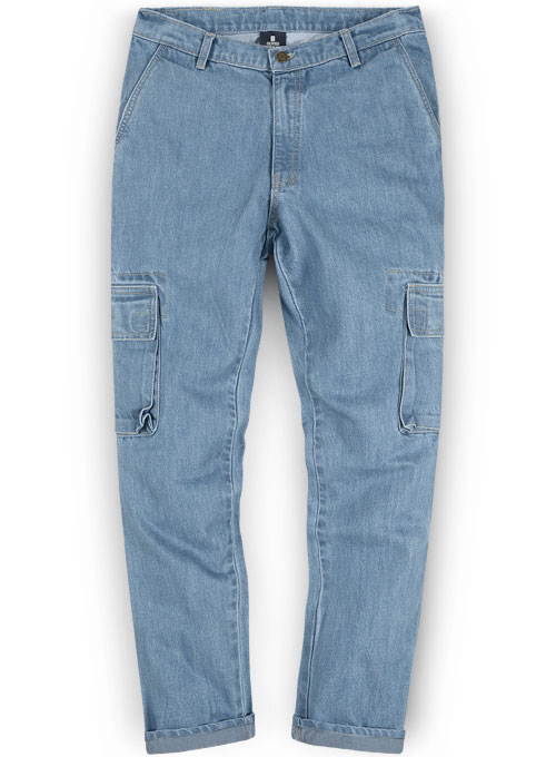 Men Cargo Jeans