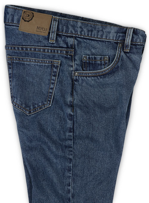 Classic Heavy Hogan Denim Jeans - Blast Wash