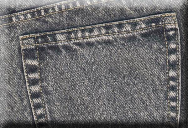 Coated Denim Jeans - Blast Wash