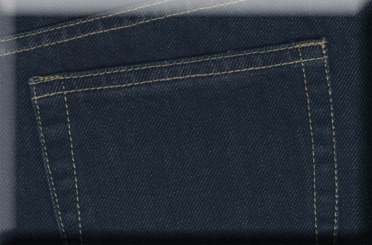 Coated Denim Jeans - Hard Wash