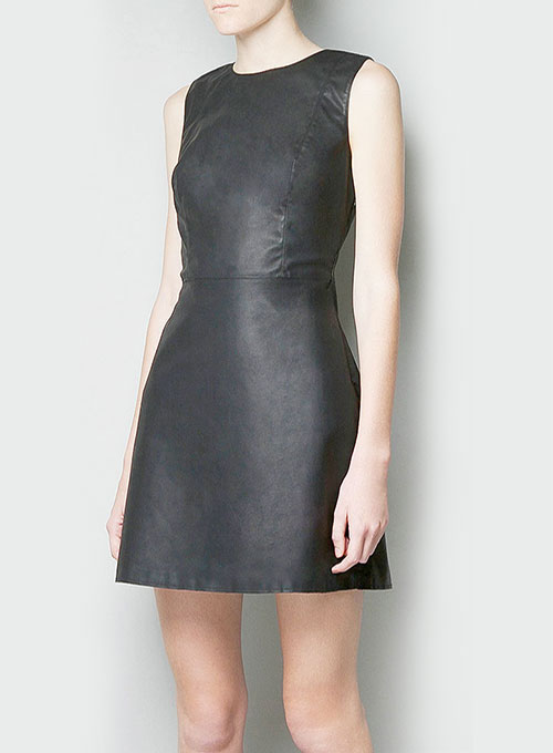 Contour Leather Dress - # 760