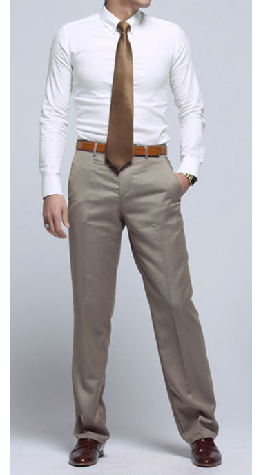 Tailored Cotton Chinos