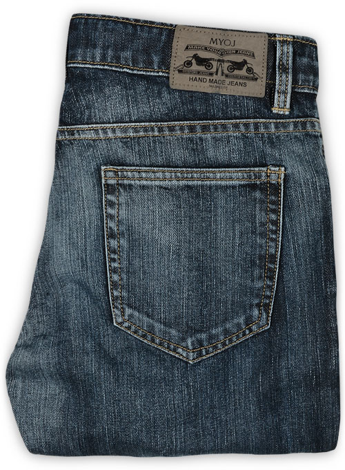 Cross Hatch Jeans - Blue - Vintage Wash