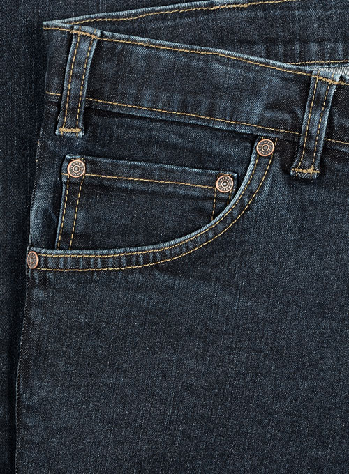 Dagger Stretch Jeans - Blast Wash