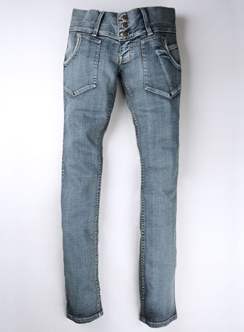 Dagger Stretch Vintage Wash Jeans - Look #224