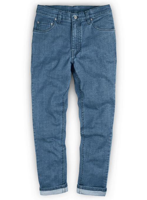 Dagger Stretch Jeans - Light Blue