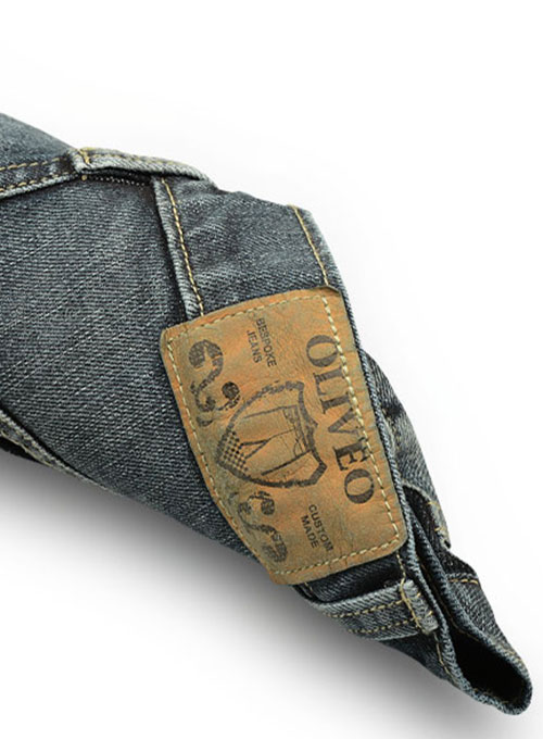 Deadly Dark Blue  Jeans - Vintage Wash