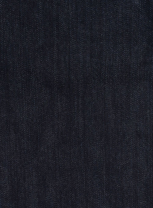 Deep Indigo Hard Washed Denim Jeans - Premium