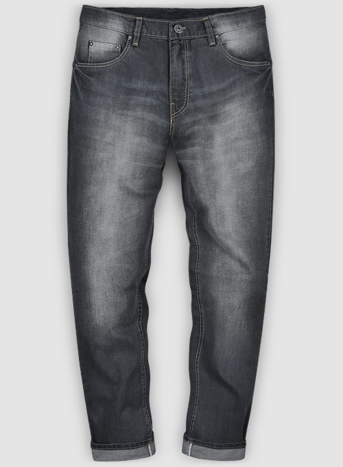 Denver Gray Hard Wash Whisker Jeans