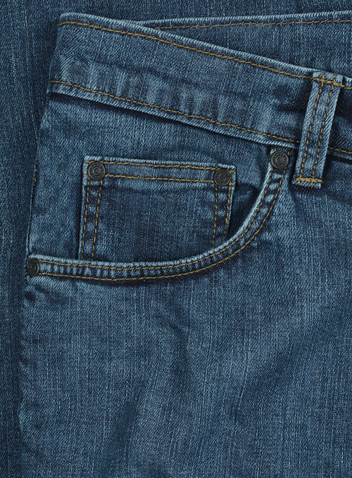 Draper Blue Blast Wash Stretch Jeans