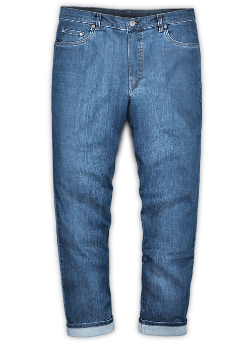 Draper Blue Light Wash Stretch Jeans