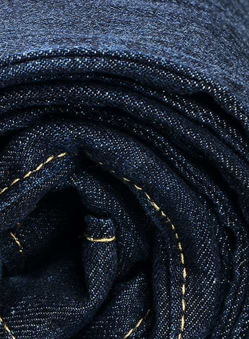 Eddie Blue Hard Wash Whisker Jeans - Click Image to Close