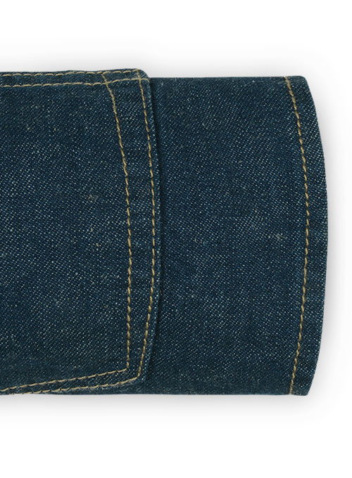 Farmer Blue Jeans - Natural Dip Wash - Click Image to Close