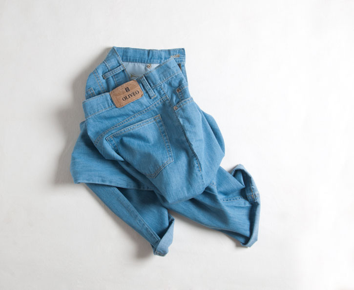 6oz Feather Light Weight Jeans - Light Blue