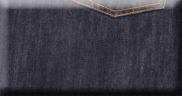 Matt Finish Blue Denim Jeans  - Denim X