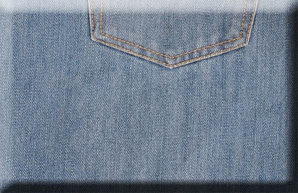 Matt Finish Blue Denim Jeans  - Light Blue