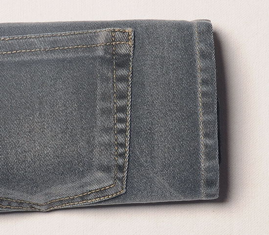 Forest Gray Stretch Jeans - Vintage Wash