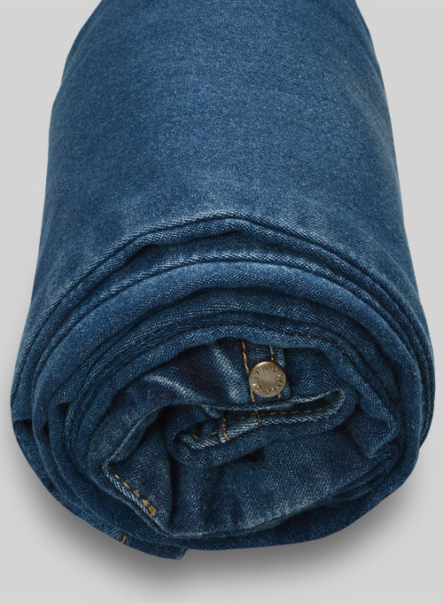 Foster Blue Stretch Jeans - Stone Wash